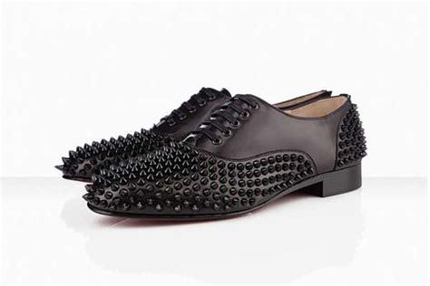studded dress shoes christian louboutin freddy flat