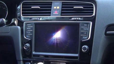 vw golf  discovery pro vim video  motion youtube