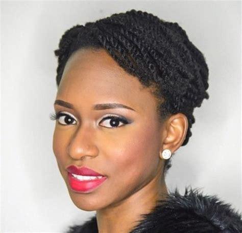 ladys short hair twist styles image gallery kinky twist