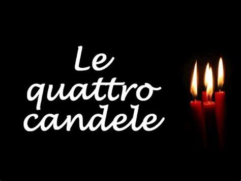 la storia delle 4 candele le quattro candele