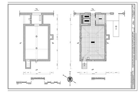 foundation floor plan foundation floor plan foundation plan and first floor