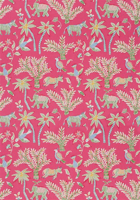 pinterest thibaut wallpaper goa pink f988720 collection trade routes from thibaut