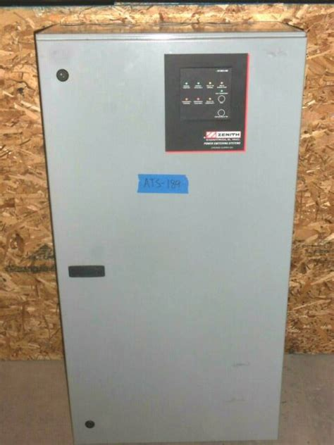 zenith  amp ats automatic transfer switch vv