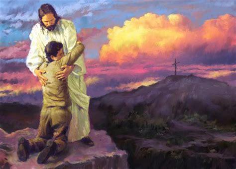 jesus comforts job and jesus the layman s bible