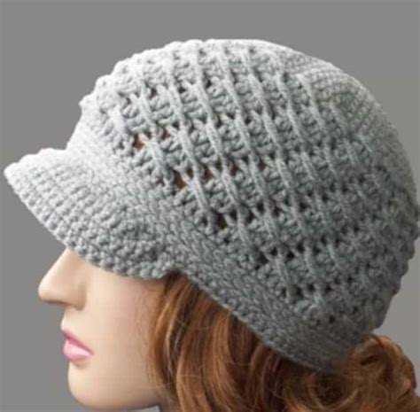 free pattern newsboy hat crochet newsboy cap free pattern easy video tutorial