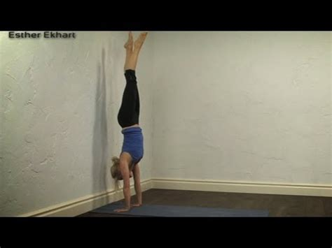 tutorial yoga handstand tutorial yoga youtube