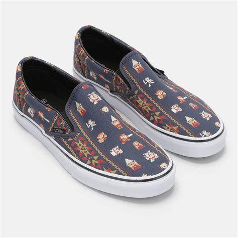 shoes on vans nintendo classic slip on shoe sneakers
