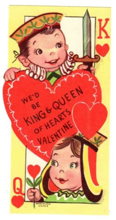 king of the hill valentines cards 17 best images about vintage cards nursery