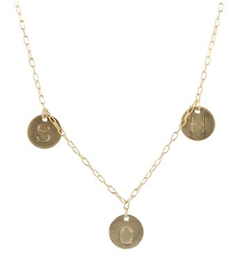 Steals Deals 15 Peggy Li Jewelry by S Family Initial Necklace Gf Necklaces