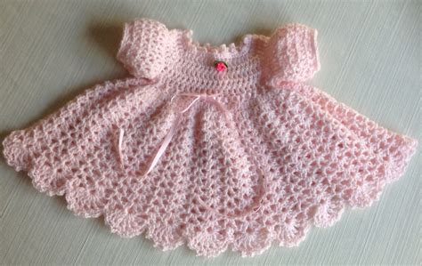 newborn pattern clothes newborn crochet baby dress mary pattern updated long sleeves