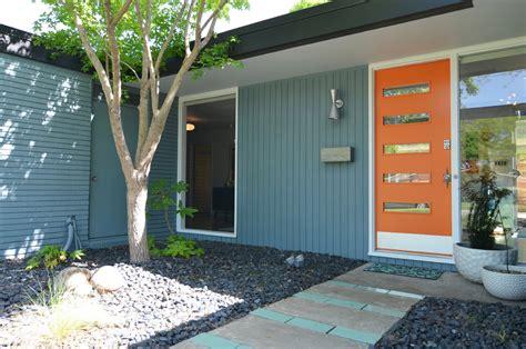 mid century window trim mid century modern exterior doors exterior midcentury with