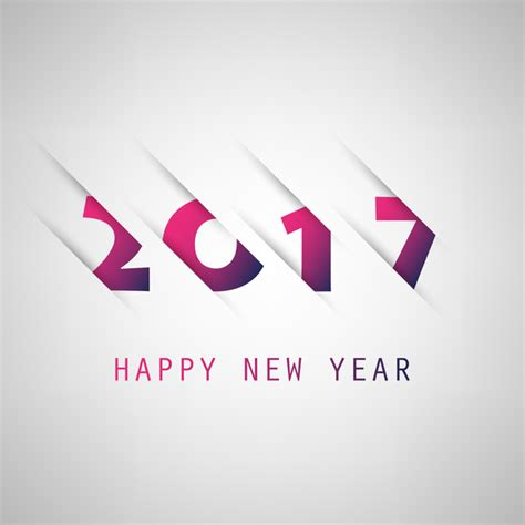 new year 2016 paper cutting template paper cutting 2017 new year background vector 01 vector