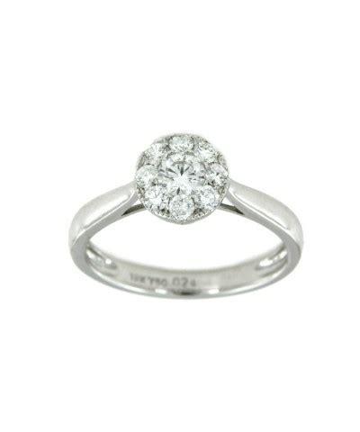 imagenes de anillos de compromiso en oro blanco anillo compromiso oro blanco y brillante joyer 237 as en sevilla
