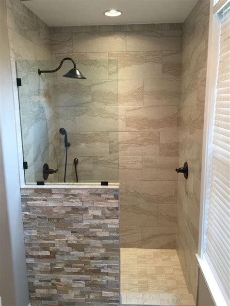 new shower replaced the old jacuzzi tub my bathroom pinterest the old walk in and shower