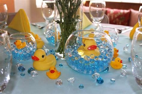 Rubber Duck Decorations by Rubber Ducks Baby Shower Ideas Photo 4 Of 22