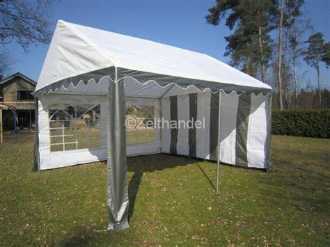 pavillon 4x5m partyzelt pavillon zelt 5x4 m 4x5m grau weiss neu ebay