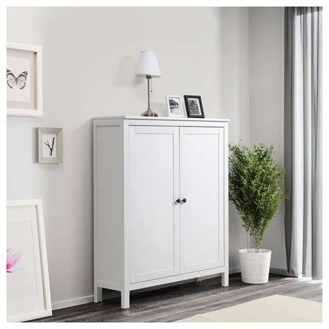 White 2 Door Cabinet Hemnes Cabinet With 2 Doors White Stain Savae Org