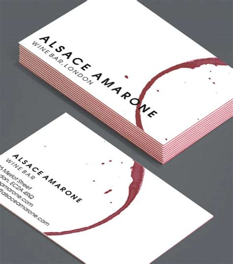 Wine Business Cards Templates by Wine Business Cards Gallery Business Card Template