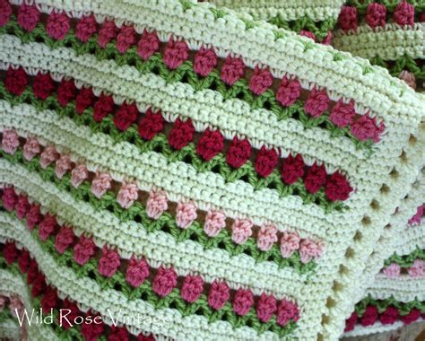 crocheting with vintage lots of painting stenciling
