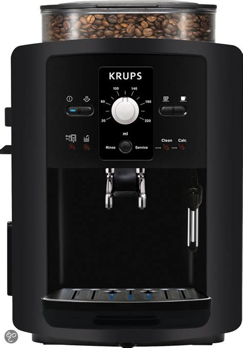 krups volautomatische koffiemachine bol krups ea8000 volautomatische espressomachine