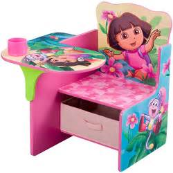 Desk And Chair With Storage Bin Dora The Explorer Desk Amp Chair With Storage Bin 10th