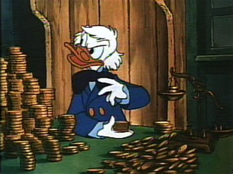 Scrooge Mcduck Carol - lallands peat worrier scrooge mcduck votes no