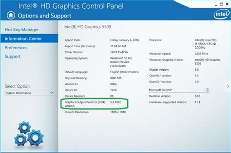 Vga Intel Hd Graphics Family frequently asked questions about bios