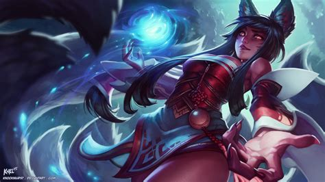 the best of legend 28 ahri lol wallpapers hd free