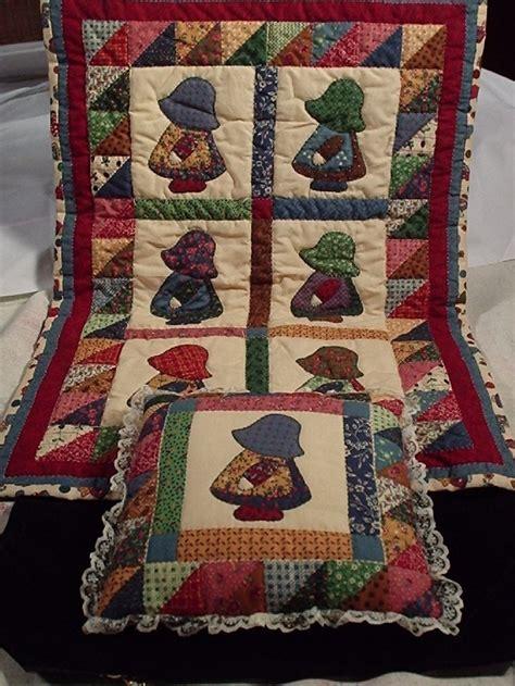 Doll Quilt Pattern by Sun Bonnet Sue Quilt Patterns Free Sunbonnet Sue Doll Q