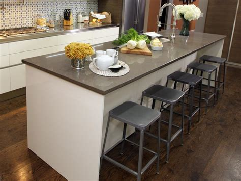 Island Stools Chairs Kitchen Kitchen Island With Stools Kitchen Designs Choose Kitchen Layouts Remodeling Materials Hgtv