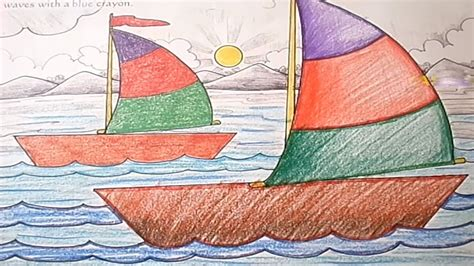 boat child drawing how to draw a boat step by step for children learn drawing