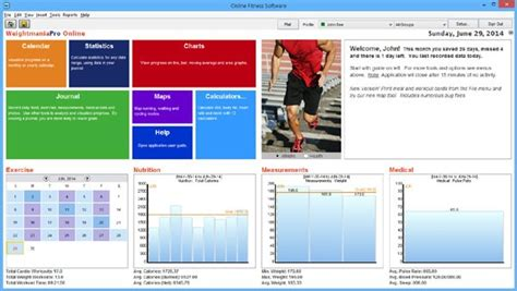 Fitness Software by Athletes Database Fitness Software