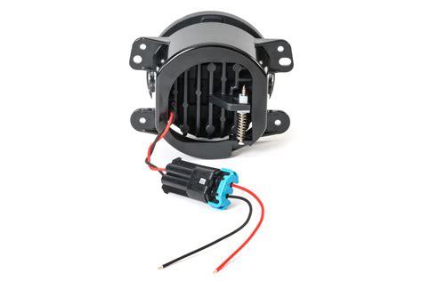 jeep wrangler led fog lights j w speaker 6145 led fog light kit for 07 13 jeep