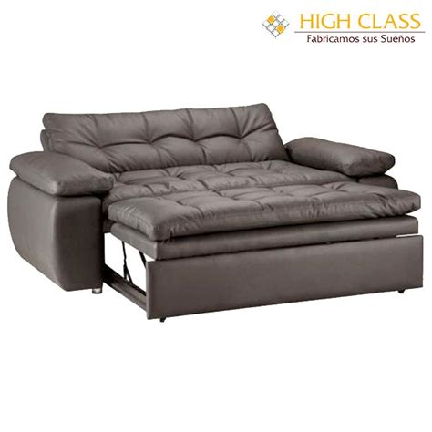 sofa cama sof 225 cama high class car yoga chocolate alkosto tienda online