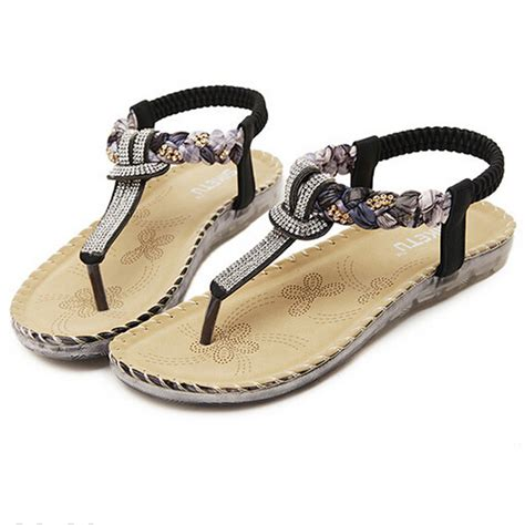s sandals with bling bohemia sandals summer casual shoes 2016 bling