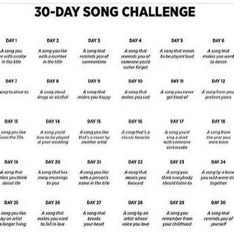 30 day music challenge day 1 a song you with a color in 30 day song challenge by anne liser playmoss playlist