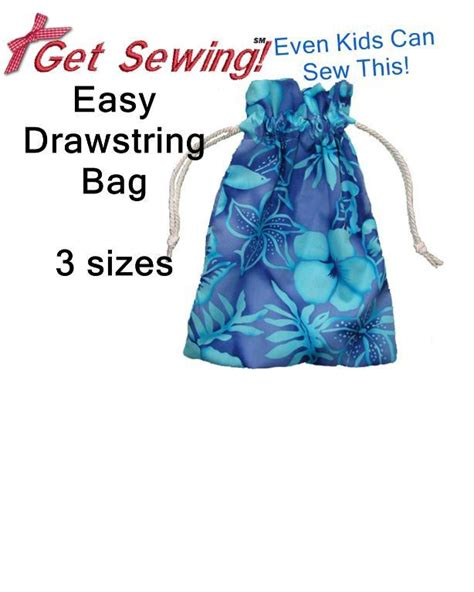pattern for simple drawstring bag easy drawstring bag by getsewing sewing pattern