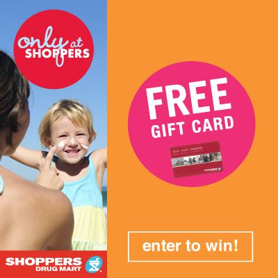 be summer ready with shoppers drug mart 100 gift card giveaway - Smart Shoppers 100 Gift Card