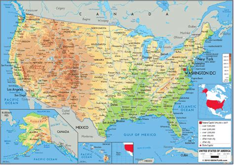 map of the united states for sale usa physical wall wall map by graphiogre