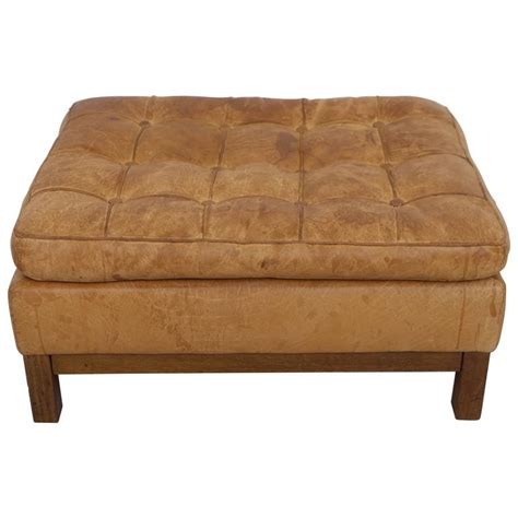 leather ottoman for sale leather ottoman by arne norell 1960s for sale at 1stdibs