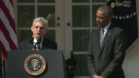 Paul David Scalia Also Search For Obama Nominates Merrick Garland To Fill Vacant Supreme Court Seat Washington Week