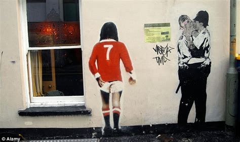 banksys kissing coppers  restored  jez