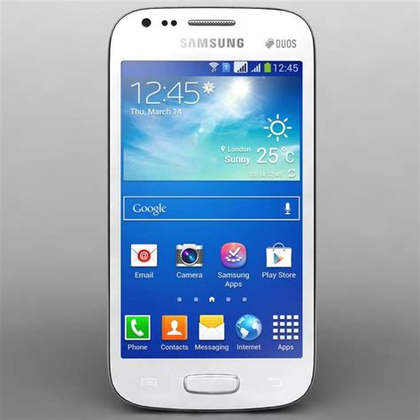 Samsung Ace 3 Fullset 3d model samsung galaxy ace 3