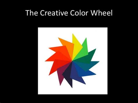 creative color wheel creative color wheel