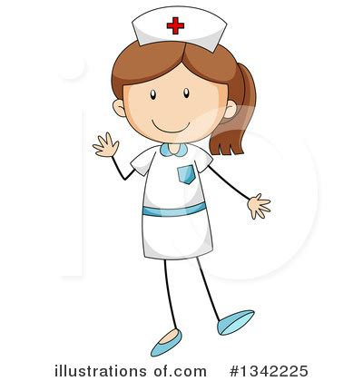how to make nurse sculpture hair clip nurse clipart 1342225 illustration by graphics rf