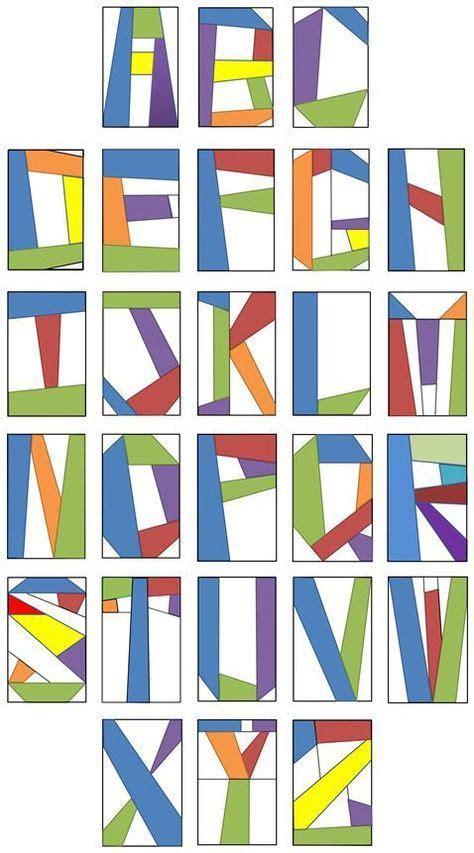 alphabet pattern finder free alphabet quilt block pattern google search quilts