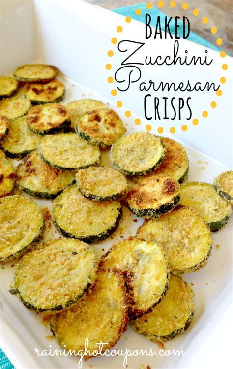 hot zucchini chips baked zucchini parmesan crisps