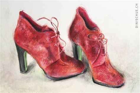 rote schuhe aus velours damenschuhe high heels m 228