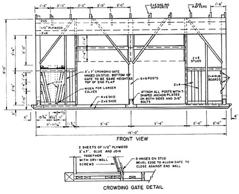 Calf Housing Plans Building And Managing Calf Hutches The Cattle Site