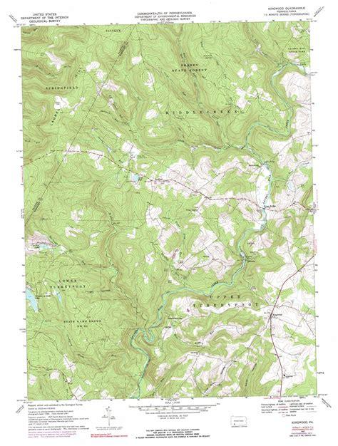 kingwood map kingwood topographic map pa usgs topo 39079h3
